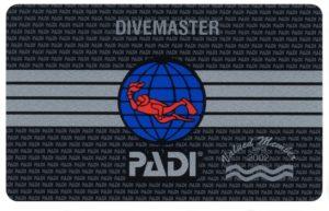 PADI Divemaser Card