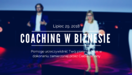 coaching w biznesie Robert Łężak i Kalina Grela