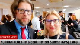 Norman Benett at Global Summit Provider