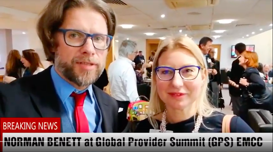 Norman Benett at Global Summit Provider
