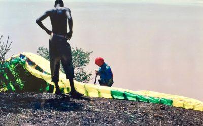 Lądowanie u Masajów