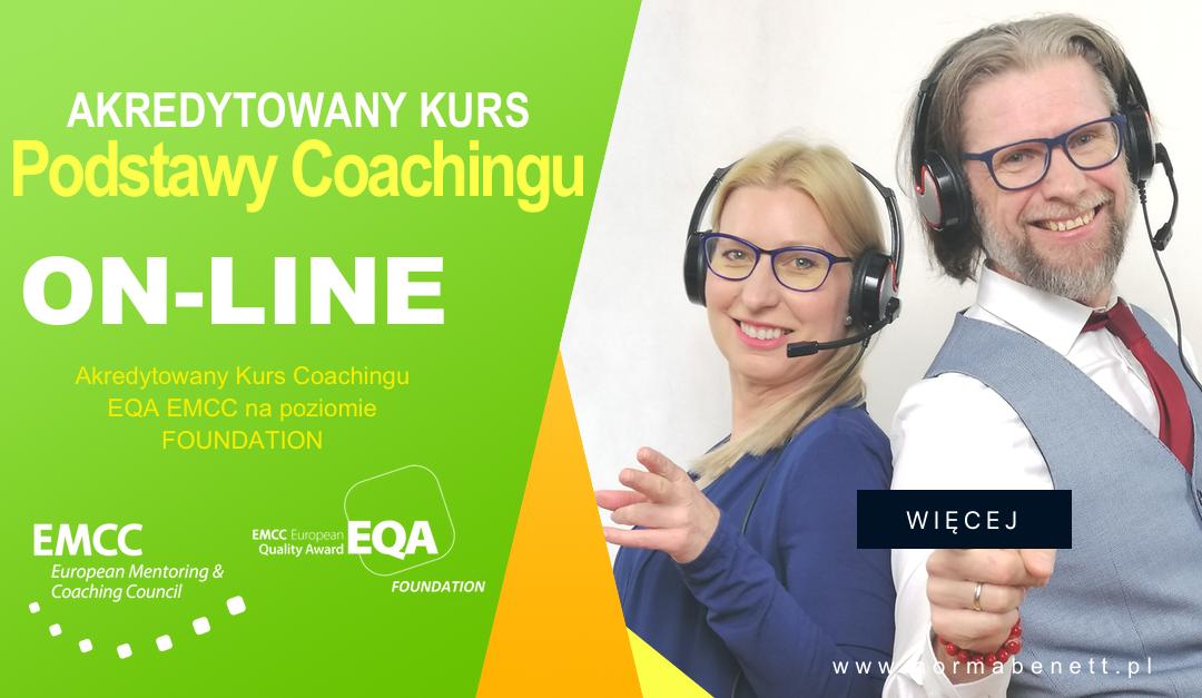 akredytowany kurs podstawy coachingu on-line