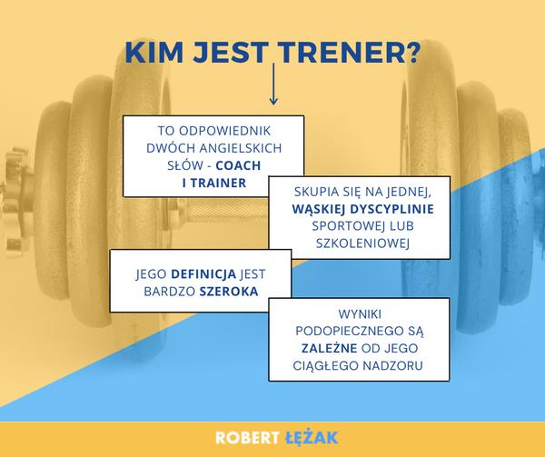 Kim jest trener?